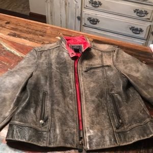 American Eagle Leather Moto jacket